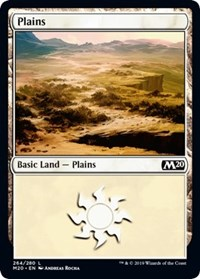 Plains (264) card from Core Set 2020