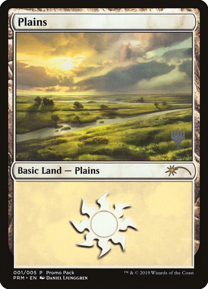 Plains card from Promo Pack: Core Set 2020