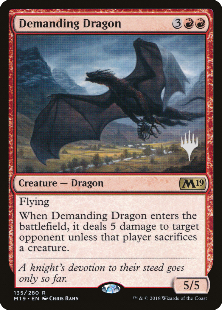 Demanding Dragon