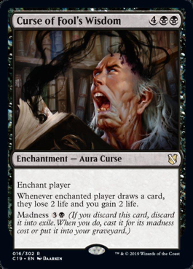 Curse of Fool's Wisdom