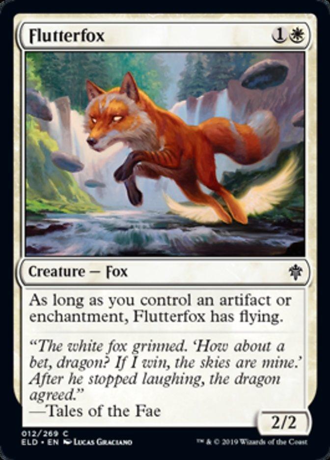Flutterfox original card image
