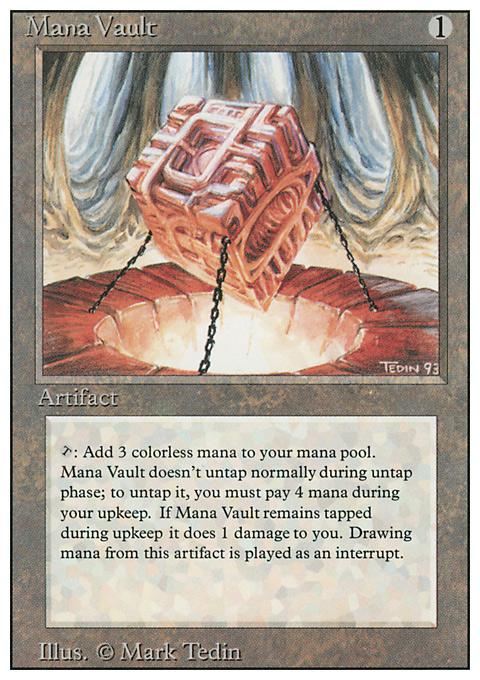 Mana Vault original card image