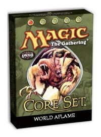 9th Edition Theme Deck - World Aflame