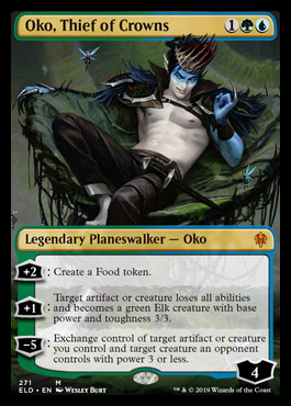 Oko, Thief of Crowns (Borderless)