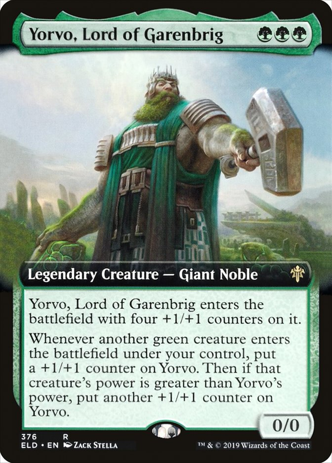 Yorvo, Lord of Garenbrig (Extended Art)