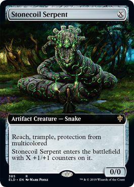 Stonecoil Serpent (Extended Art)