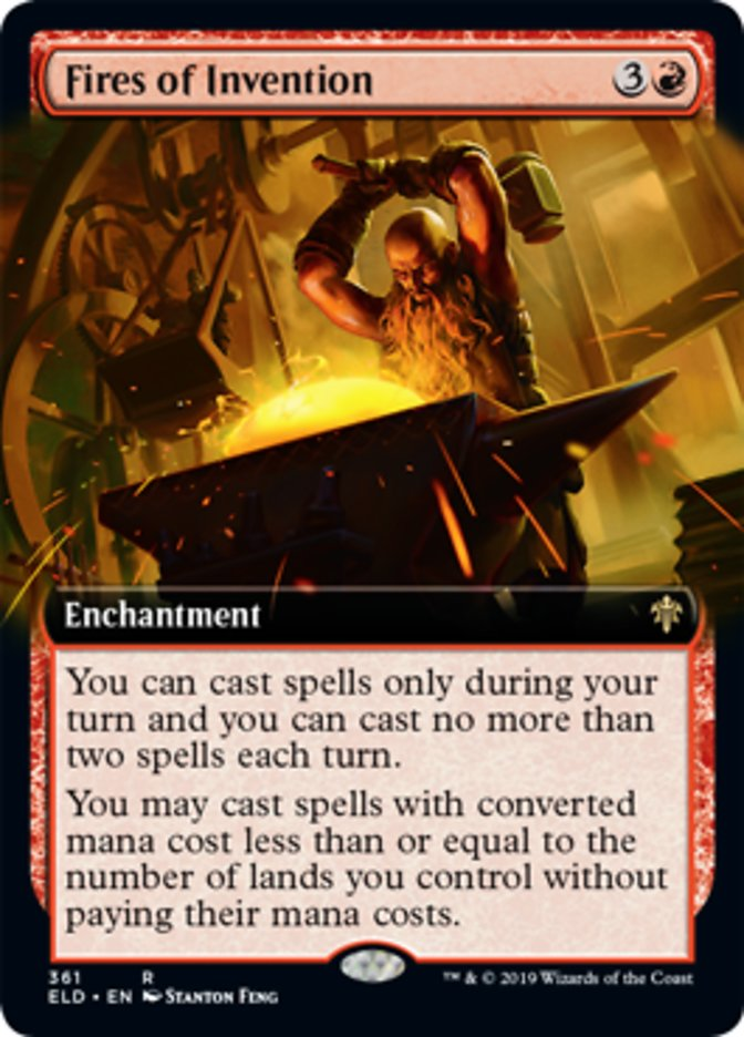 Fires of Invention (Extended Art)