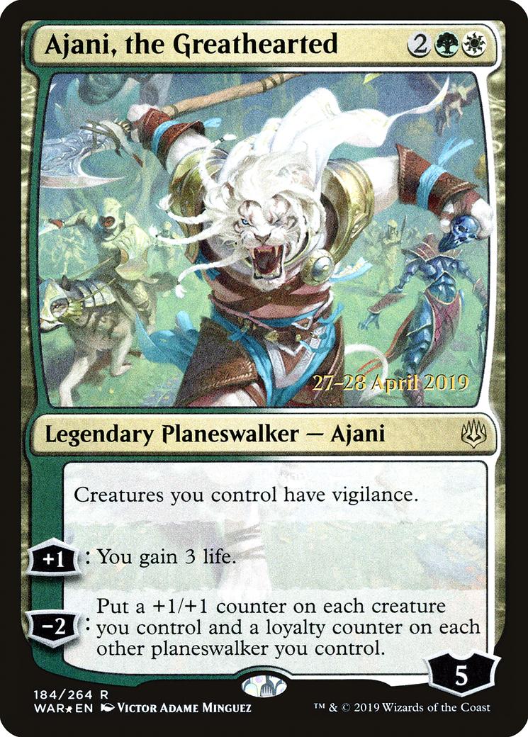 Ajani, the Greathearted
