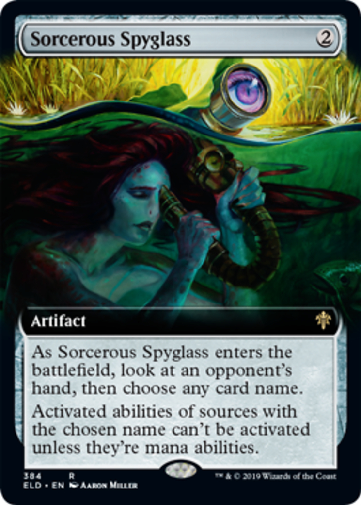 Sorcerous Spyglass (Extended Art)