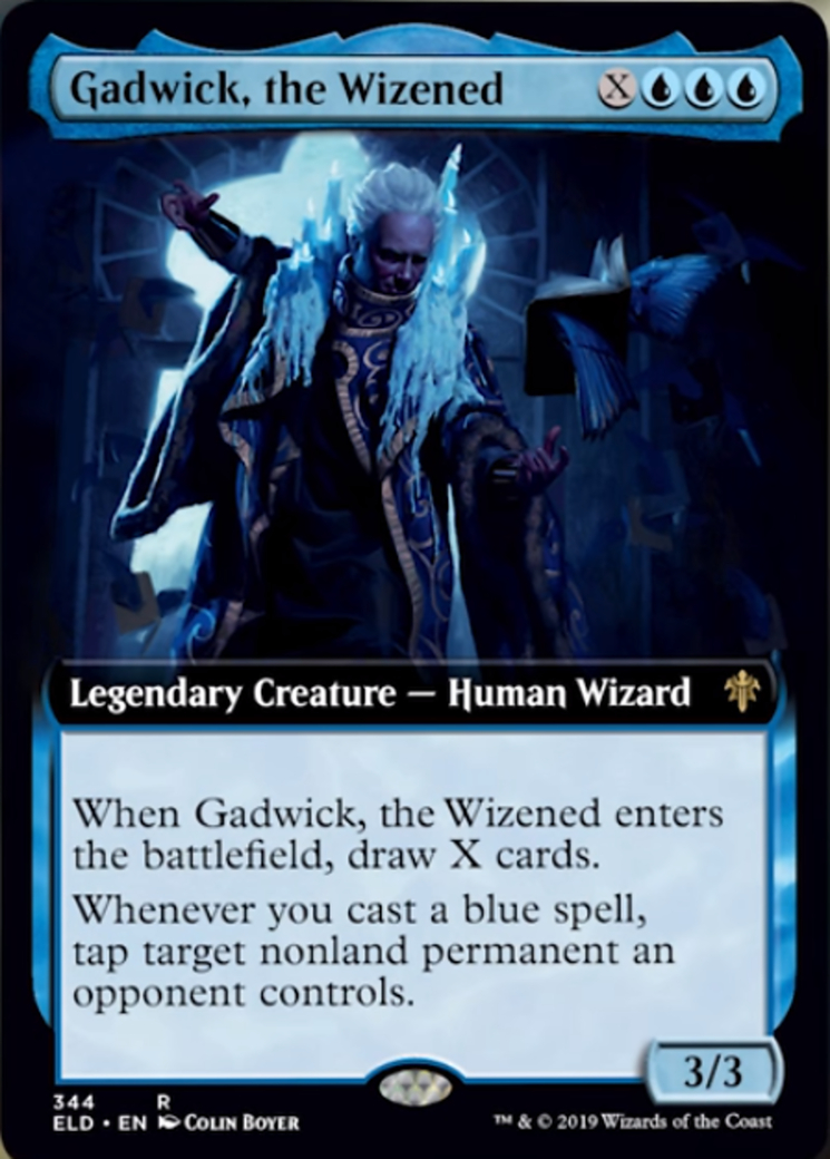 Gadwick, the Wizened (Extended Art)