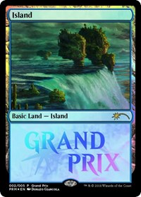 Island card from Grand Prix Promos