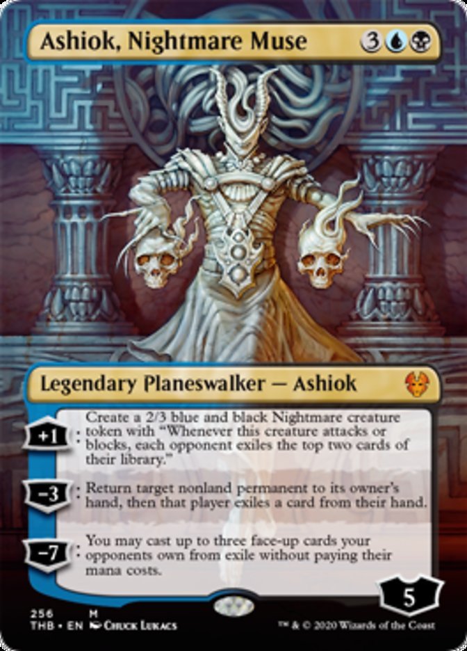 Ashiok, Nightmare Muse (Borderless)