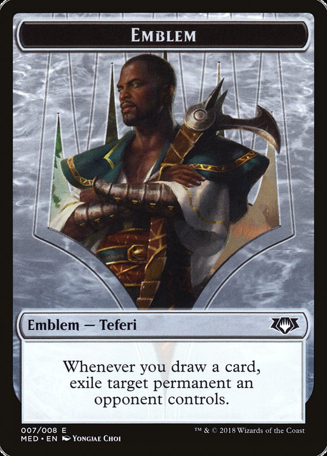 Emblem - Teferi, Hero of Dominaria