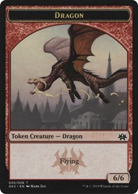 Dragon // Goblin Token