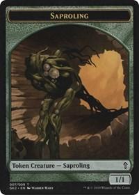 Saproling // Wurm Token