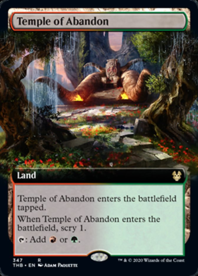 Temple of Abandon (Extended Art)