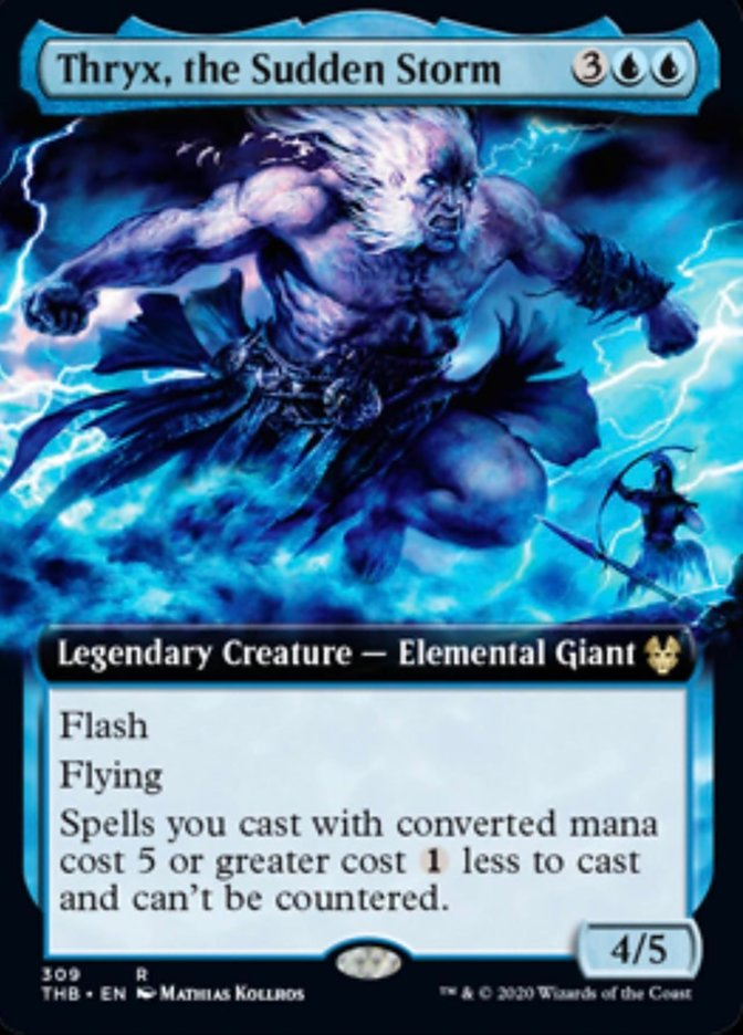 Thryx, the Sudden Storm (Extended Art)