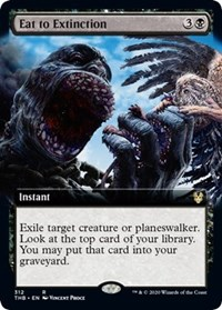 Eat to Extinction (Extended Art)