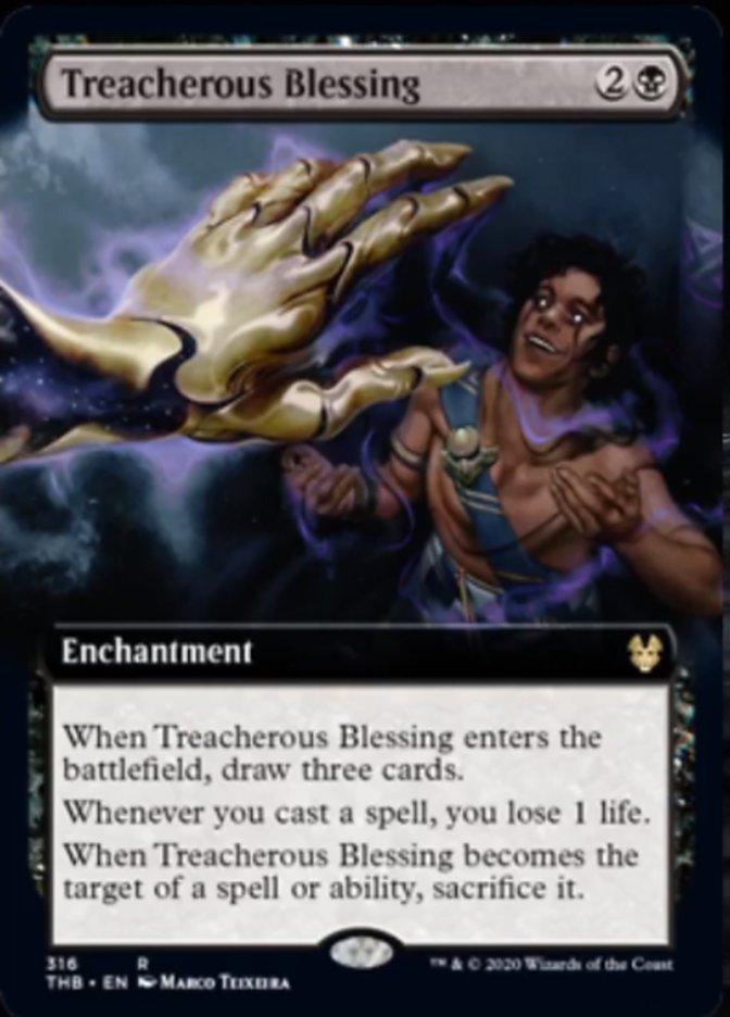 Treacherous Blessing (Extended Art)