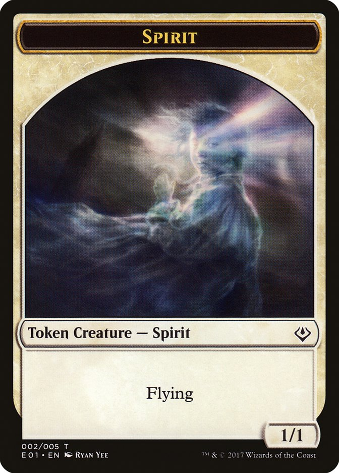Spirit // Soldier Double-sided Token