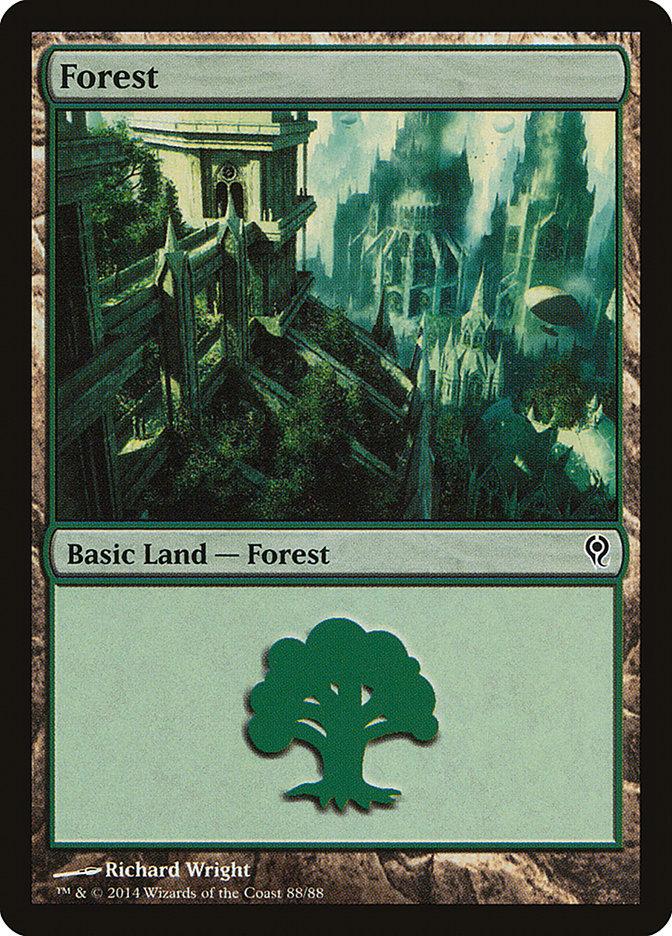 Forest (88) card from Duel Decks: Jace vs. Vraska