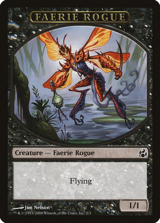 Faerie Rogue Token (Black)
