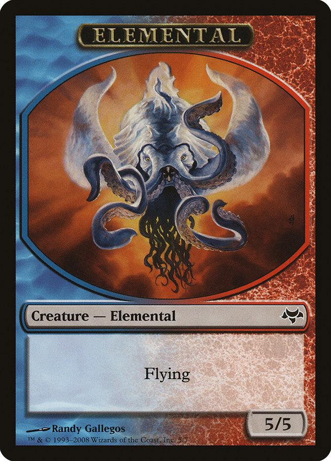 Elemental Token (Blue/Red)