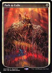 Path to Exile card from MagicFest Cards