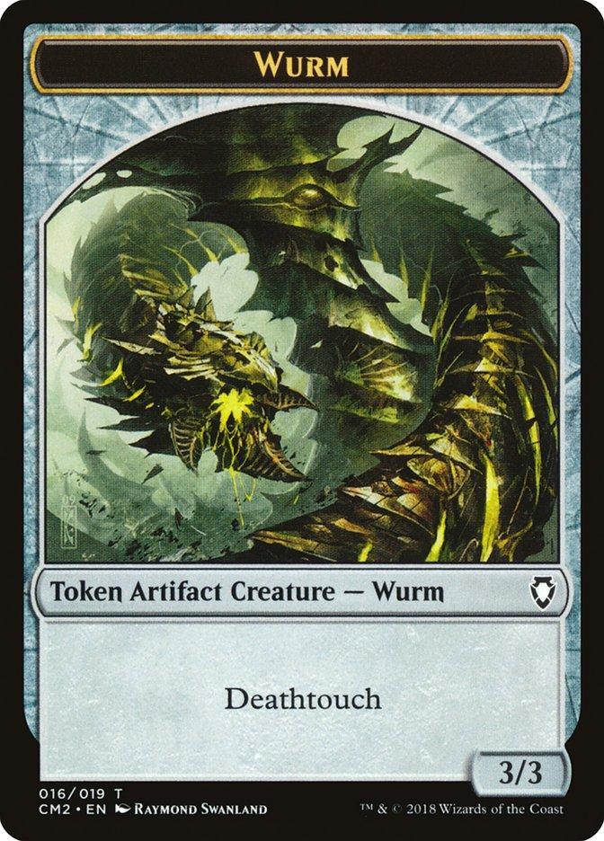 Wurm Token (Deathtouch)