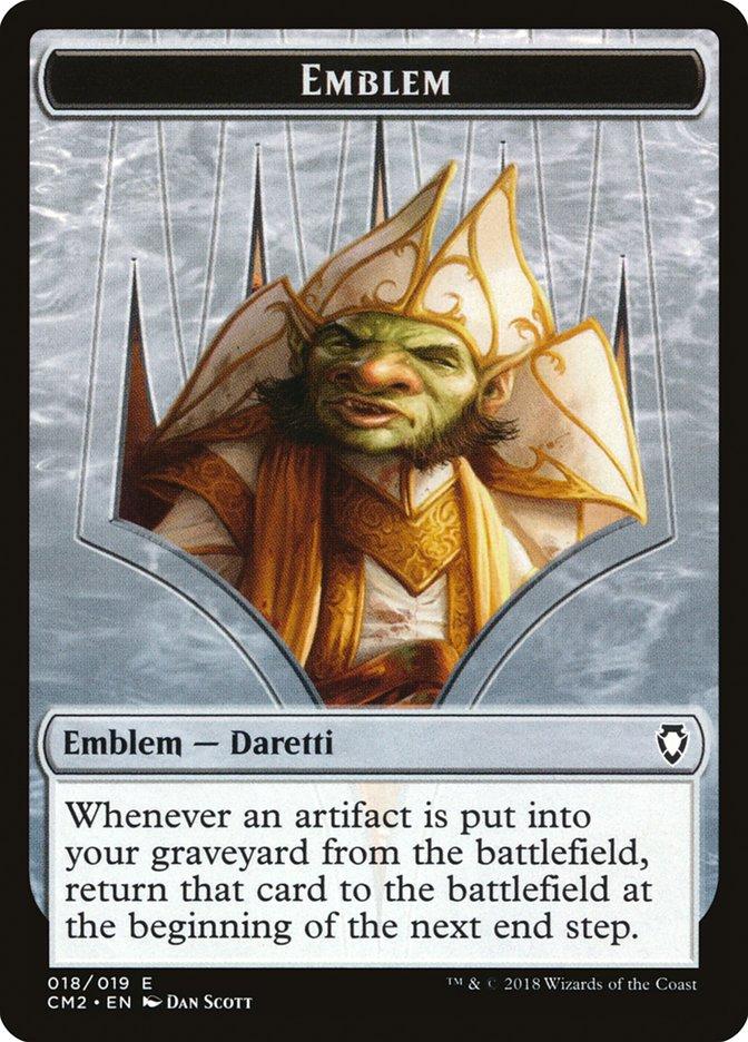 Emblem - Daretti, Scrap Savant