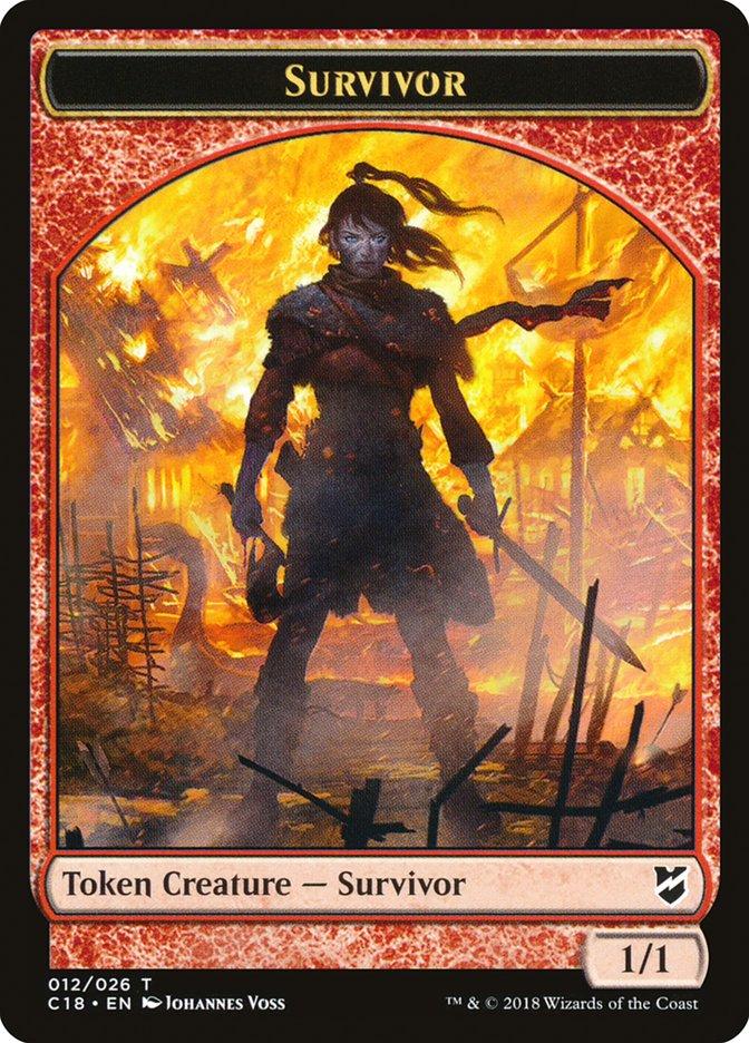 Survivor // Myr (023) Double-sided Token