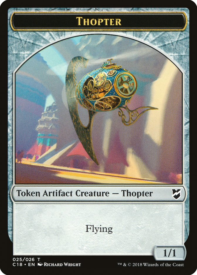 Thopter (025) // Servo Double-sided Token