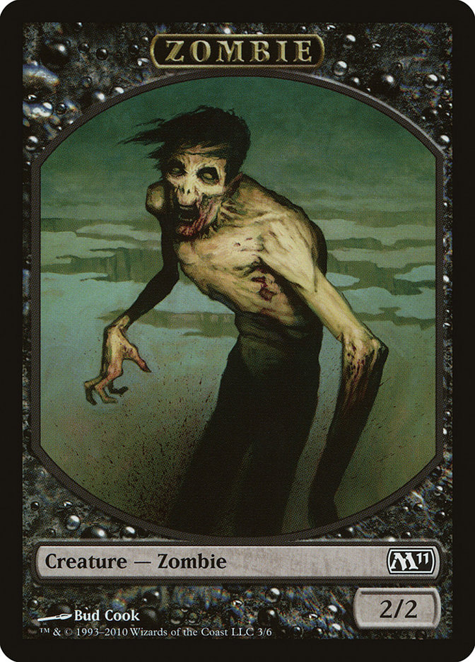 Zombie Token card from Magic 2011