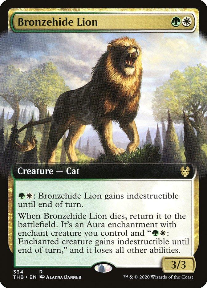 Bronzehide Lion (Extended Art)