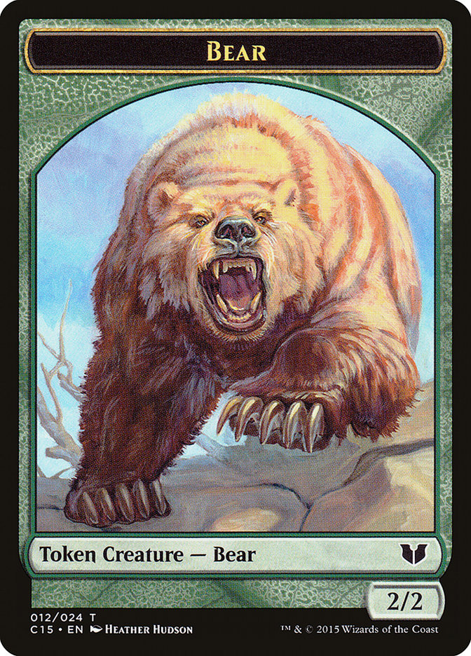 Bear // Spider Double-Sided Token