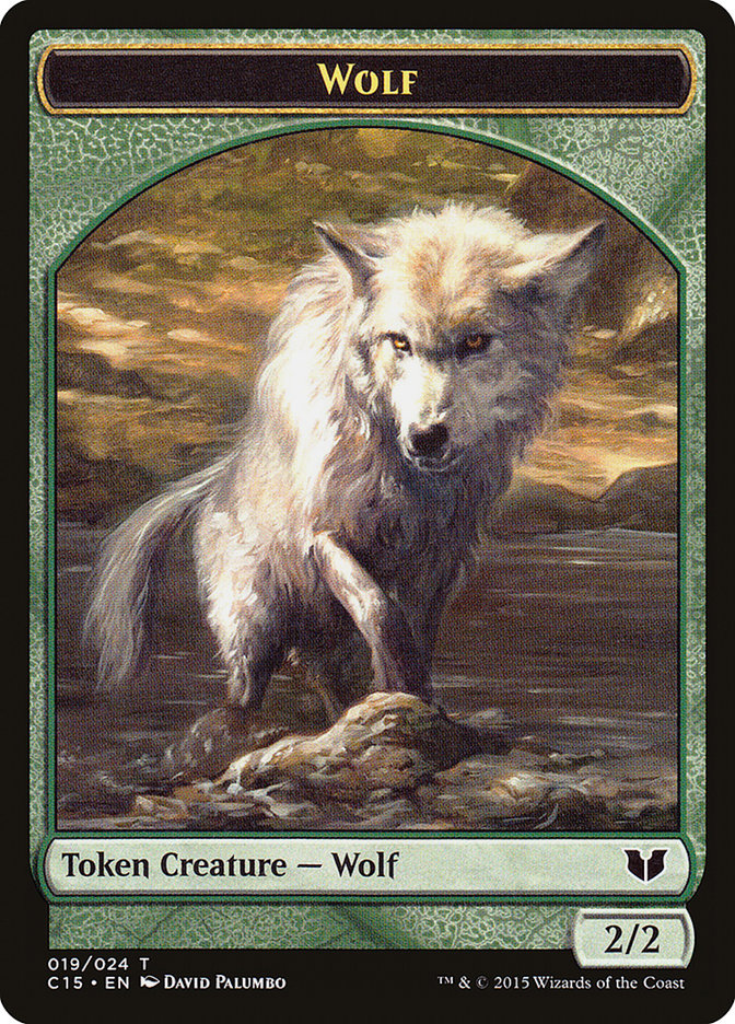 Wolf // Zombie Double-Sided Token