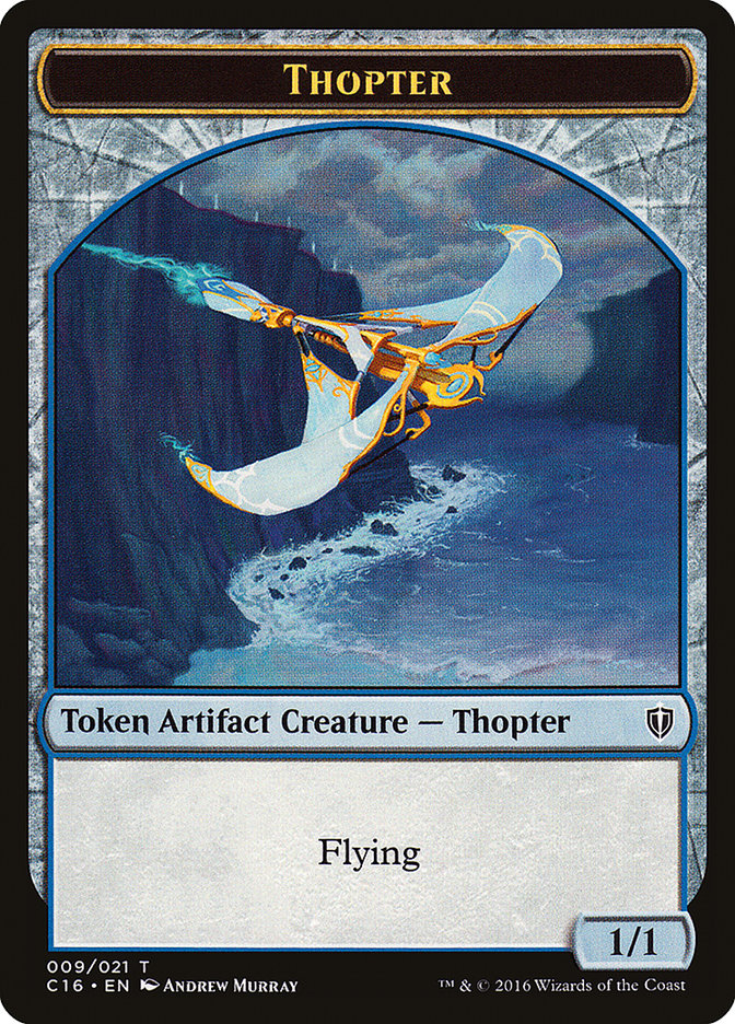 Thopter // Germ Double-sided Token