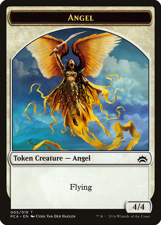 Angel // Saproling Double-sided Token