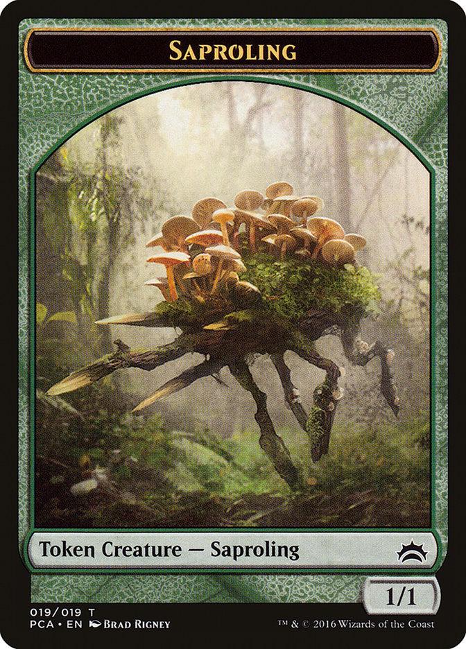 Saproling // Goblin Double-sided Token