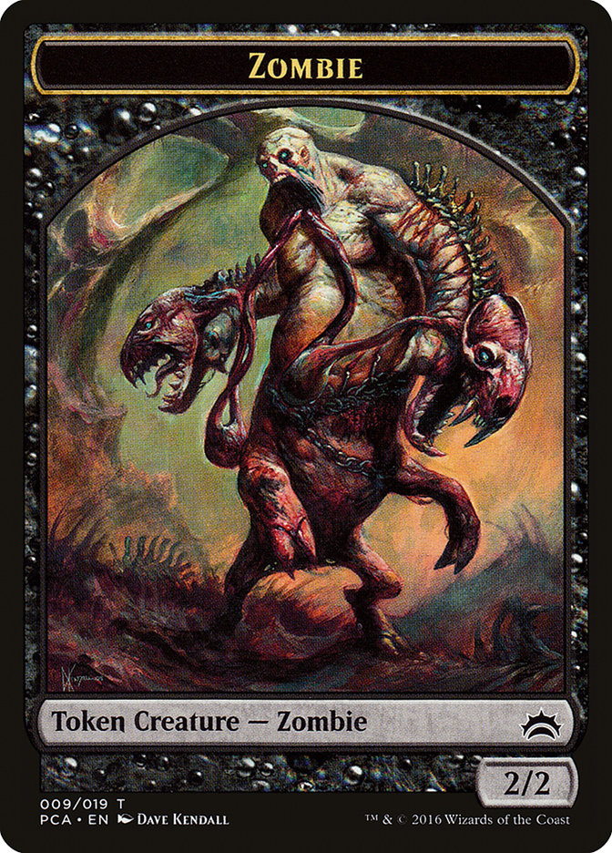 Zombie // Hellion Double-sided Token