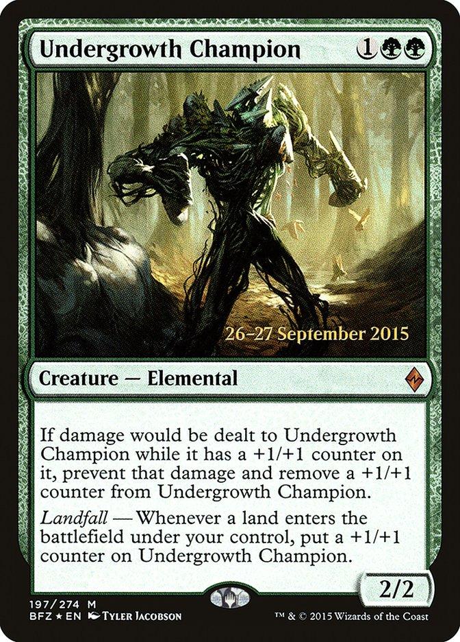 Undergrowth Champion