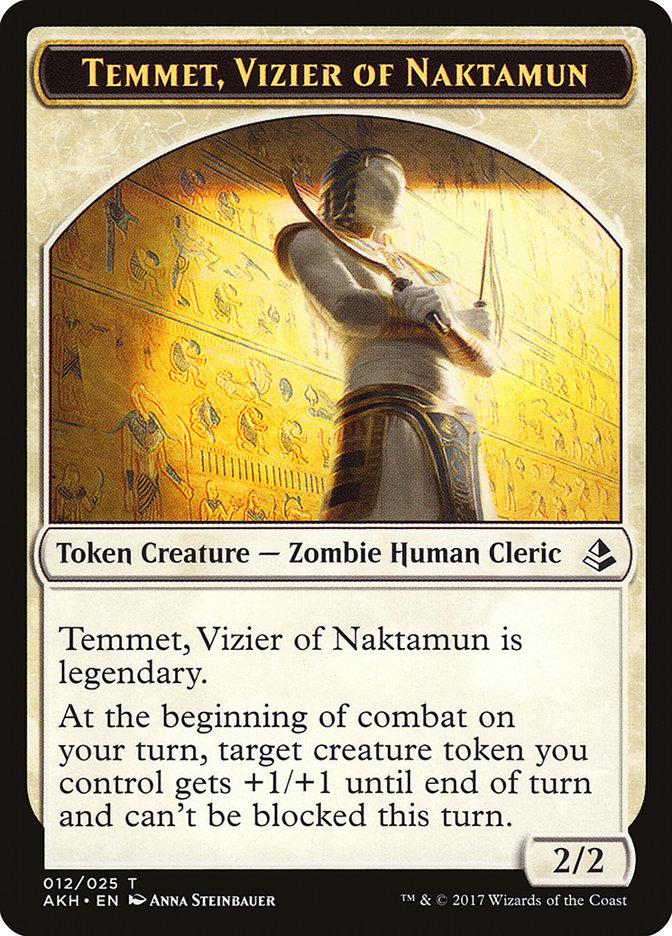 Temmet, Vizier of Naktamun Token
