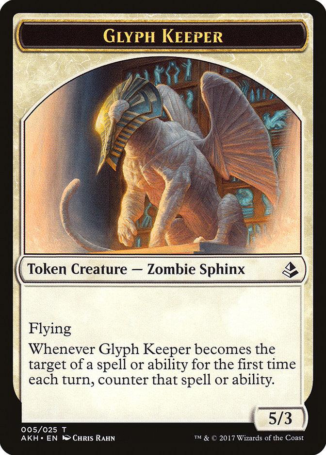 Glyph Keeper // Warrior Token
