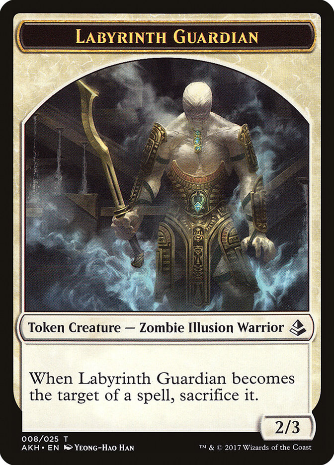Labyrinth Guardian // Insect Token
