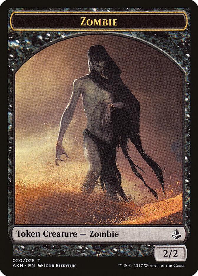 Zombie // Trueheart Duelist Token