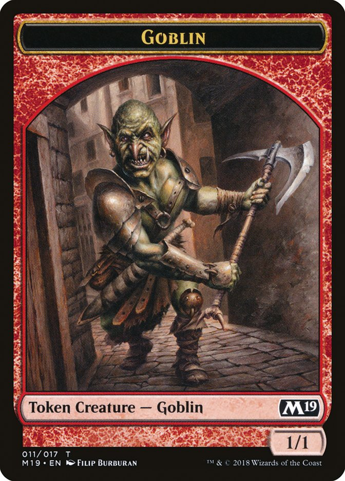 Goblin // Thopter Double-sided Token (Game Night)