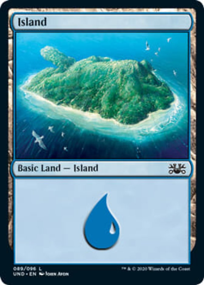 Island card from Unsanctioned