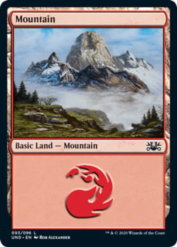 Mountain card from Unsanctioned