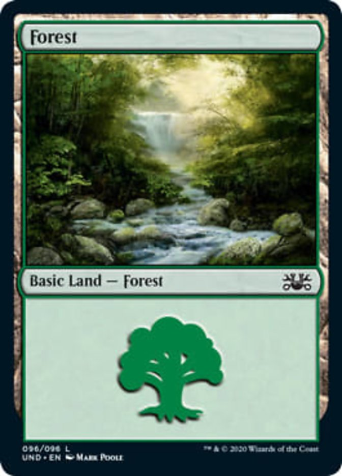 Forest card from Unsanctioned