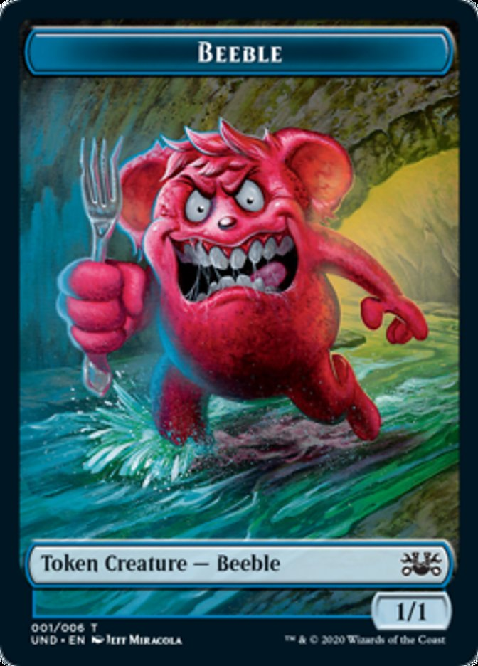 Beeble // Squirrel Double-sided Token